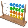 Stock Photo: Euro Abacus