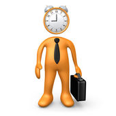 Time For Work — Stock Photo