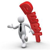 Debt — Stock Photo