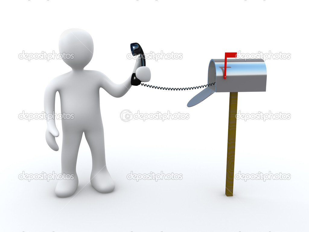 Computer Generated Image - Direct Communication . — Stock Photo #2618650
