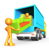 Movers — Stockfoto