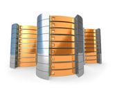 3D Servers — Stock Photo