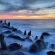 Stock Photo: Old Groyne
