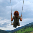 Swing above — Stock Photo