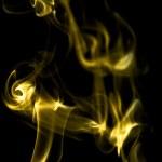 Smoke on a dark background — Stock Photo