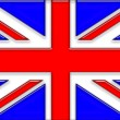 United Kingdom Flag — Stock Photo