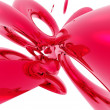 Stock Photo: Abstract red effects background