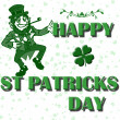 Happy st patricks dag — Stockfoto