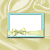 Blank invitation — Stock Photo