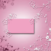 Pink blank — Stock Photo