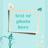 Jade vector frame — Stock Vector