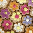 Stock Photo: Flower cookies