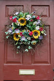 Flower wreath — Stock Photo