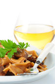 Beef Stroganoff Closeup — Stock Photo