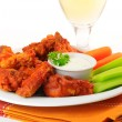 Stock Photo: Hot Chicken Wings