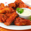 Spicy Wings — Stock Photo