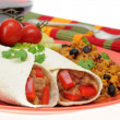 Bean Burrito - Stok fotoraf