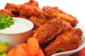 Chicken Wings — Stockfoto