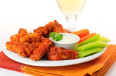 Hot Chicken Wings — Stock Photo