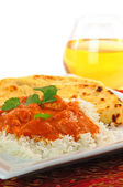 Indian Butter Chicken — Stock Photo