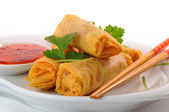 Thai Spring Rolls — Stock Photo