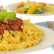 Pasta and Meat Sauce — Stock Photo #2240000