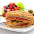 Stock Photo: Breakfast Panini