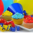 Stock Photo: Colorful Cupcakes