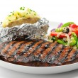 Royalty-Free Stock Photo: Grilled Steak