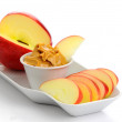 Apples and Peanut Butter — Stock Photo #2249641