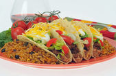 Taco Meal — Stock Photo