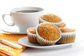 Oatmeal Muffins — Stock Photo