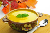Autumn Squash Soup — Stock Photo