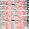 Fifty Pound Notes - Great Britain — Stock Photo #2225226
