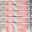 Stock Photo: Fifty Pound Notes - Great Britain