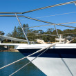 Pleasure Craft Bow — Foto de stock #2225632