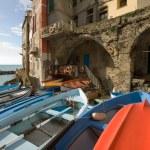 Riomaggiore, Cinque Terre, Italy — Stock Photo #2225733