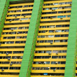 appartementenblok, singapore — Stockfoto