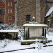 Tombs, Lambeth Palace, London - Stock Photo