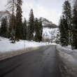 Road Through the Dolomites - Lizenzfreies Foto