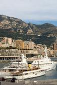 Luxury Boats, Monte Carlo, Monaco — Stock Photo