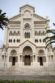 Cathedrale de Monaco, Monte Carlo — Stock Photo