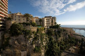 Monte Carlo Apartment Buildings — Stock Photo