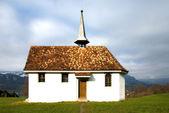 Chiesa su una collina — Foto Stock