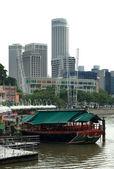 City Scene, Singapore — Stock Photo