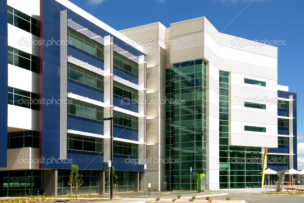 A newly constructed office building, Australia  Stock Photo #2225819