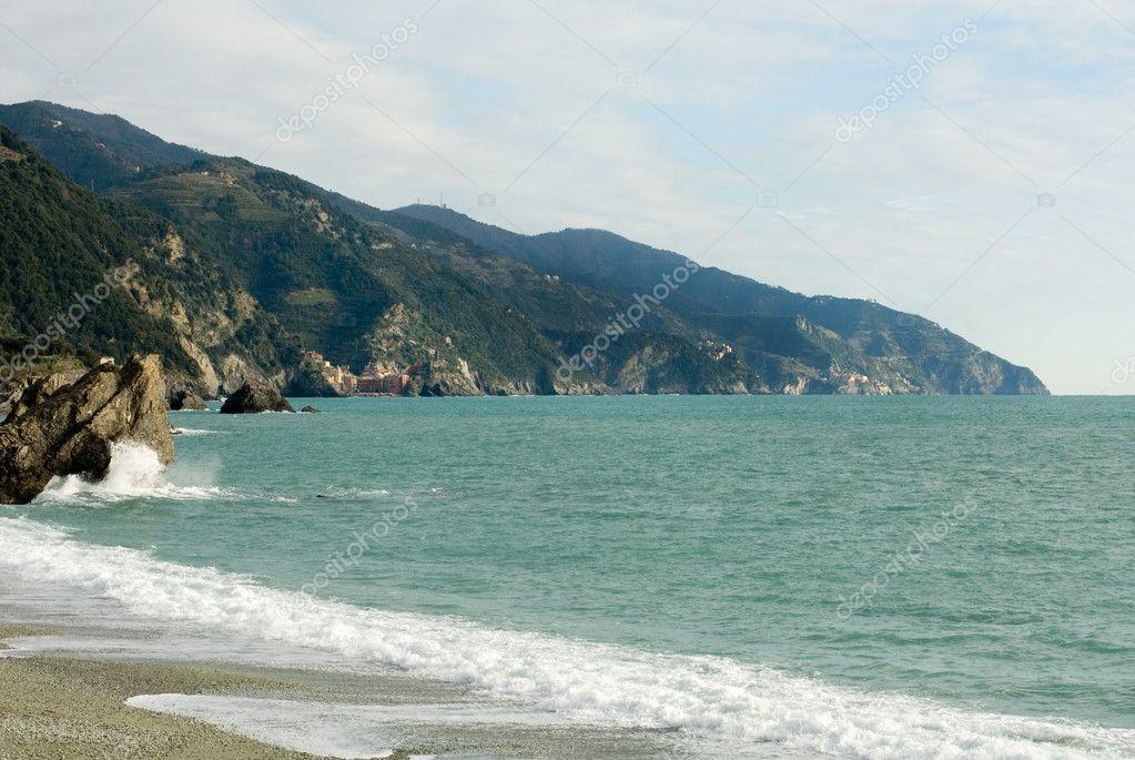 地中海海岸风景区 — 图库照片08phillipminnis