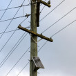 Foto Stock: Power Pole