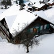 Chalet in the Snow — Stok fotoğraf
