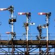 Railway Signals — Stock Photo